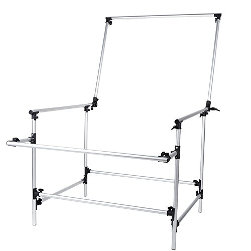 Andoer 100 x 200cm Photo Studio Photography Shooting Table for Still Life Product Shooting Aluminum Alloy Frame by Andoer (Image #3)