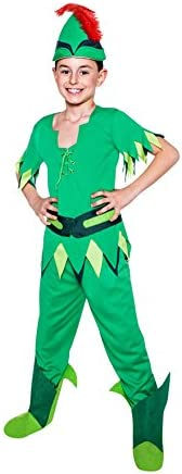 Disfraz de Peter Pan Para Niño: Amazon.es: Juguetes y juegos