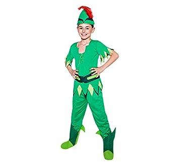 Disfraz de Peter Pan para niño  Amazon.es  Juguetes y juegos 7816f709ec23