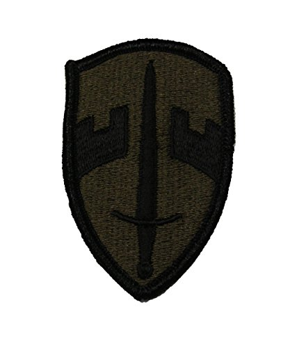 MILITARY ASSISTANCE COMMAND VIETNAM MACV SHIELD Shoulder Patch - Olive Drab - Veteran Owned Business.