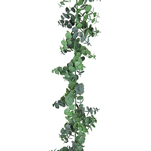 (Floristrywarehouse Artificial Spiral Eucalyptus Garland 6ft)