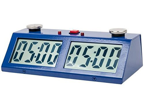 ZMF-Pro Professional Tournament Chess Game Clock Blue