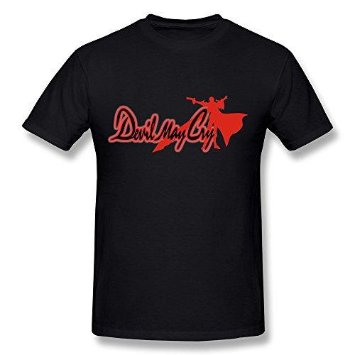 Mens Devil May Cry Tee Shirts/Black Shirt