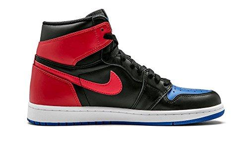 Nike 555088-026 - Zapatillas de deporte Hombre Negro (Black / Black / White / Varsity Royal)