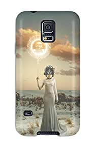 Ultra Slim Fit Hard Tasha P Todd Case Cover Specially Made For Galaxy S5- Desktop Artwork