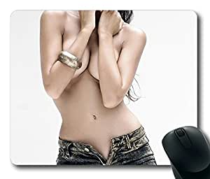 Sexy Girl Personlized Masterpiece Limited Design Oblong Mouse Pad by Cases & Mousepads