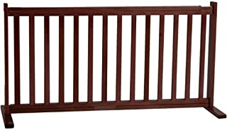 product image for Dynamic Accents 20 in. All Wood Small Free Standing Gate - Artisan Bronze