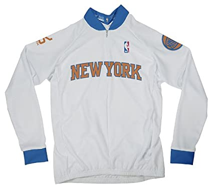 Amazon.com   NBA New York Knicks Women s Long Sleeve Cycling Jersey ... 2133aa6d5