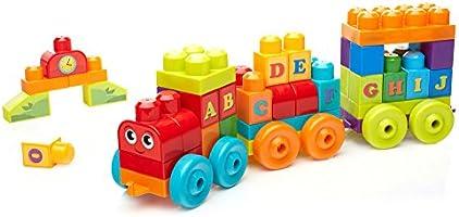 Mega Bloks ABC Learning Train Building Set