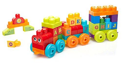 Mega Bloks ABC Learning Train Building (Mega Train)
