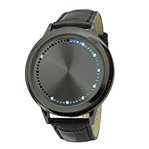 Amazon.com: Unique Personality Digital Wrist Watch Men Sport ...