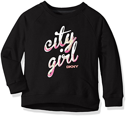 DKNY Girls Long Sleeve Sweatshirt (More Styles Available)