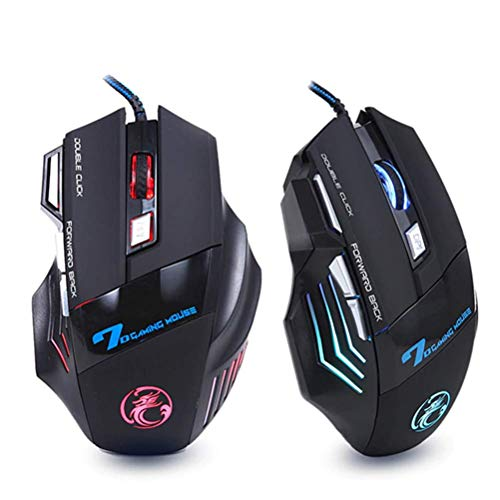 Limited Edition Optical Mouse - Professional Wired Gaming Mouse 7 Button 5500 DPI LED Optical USB Computer Mouse Gamer Mice X7 Game Mouse