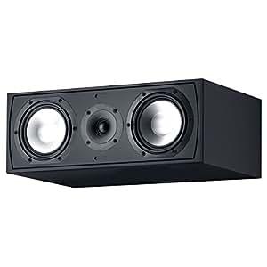 "Canton Gle 455.2 - Altavoces (Piso, Mesa/estante, 2,54 cm (1""), 15,24 cm (6""), 80W, 140W, 30 - 30000 Hz) Negro"