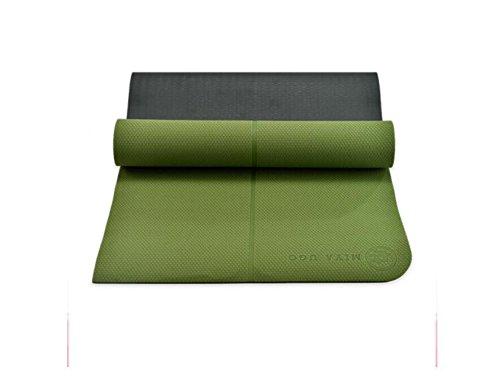 YOOMAT TPE-Double Farbe 8mm Verlängerung 1800 mm 660 mm Fitness Kissen, Anfänger Fitness Matte, Körper Guide System, Yoga Matte.