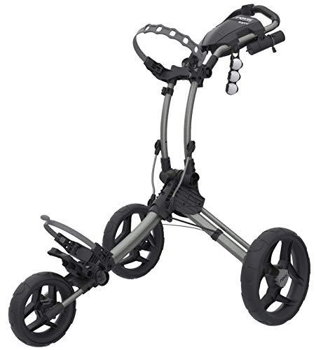 Clicgear Rovic Model RV1C Compact   3-Wheel Golf Push Cart (Silver/Black)