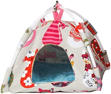 ハムスターネストゴールデンベアッシュチンチラハリネズミリスウサギのテント冬の暖かい綿の巣新しいリリースと人気