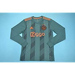 Peak AJAX Amsterdam Away Long Sleeve Soccer Jersey Maillot 2019-2020
