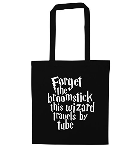 Creative Tote Black this travels Forget by wizard the Bag Flox broomstick tube 0TwqvZ