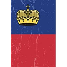 Liechtenstein Flag Journal: Liechtenstein Travel Diary, Holiday Souvenir Book, lined Journal to write in