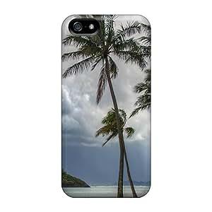 New Tpu Hard Case Premium Iphone 5/5s Skin Case Cover(hawaii)