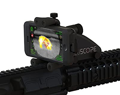 Inteliscope ANDROID Rifle Mount + Seek Thermal Imaging IR Rifle Scope and Gun Camera Bundle for Smartphone