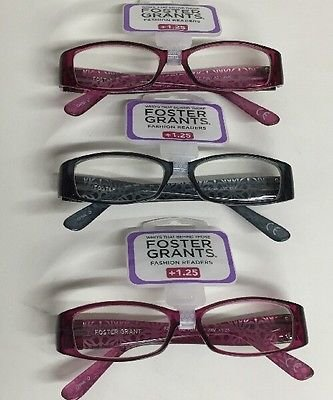 8afe96b4fa Amazon.com: (50 Pack) Fashion Reading Glasses Foster Grant Posh Pink ...