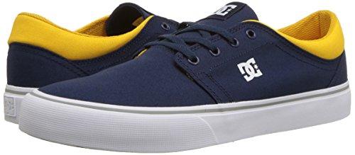 Dc Da Navy Basse M yellow Ginnastica Scarpe Tonik Shoes Uomo UxZqwFU7r