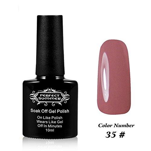 Pefect Summer Pro 10ml Gel Nail Polish UV/LED Light Soak Off