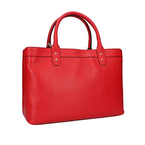 Mano Borsa Donna Borbonese Rosso A 923691f96 tAUwxqORn
