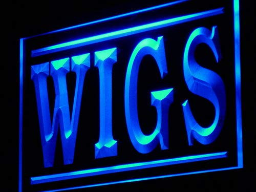 ADVPRO Cartel Luminoso j074-b Wigs Shop Display ADV LED ...