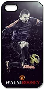 Wayne Rooney Signed HD image case cover for iphone 5 black A Nice Present by runtopwell