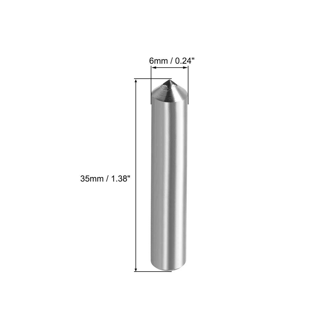 uxcell Diamond Grinding Wheel Dresser 12mm X 40mm Single Point Dressing Tool for Truing