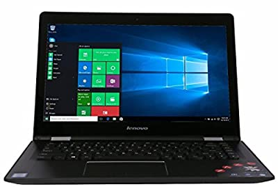 2016 Newest High Performance Lenovo 2-in-1 15 Touchscreen 1920x1080 LED HD Display Laptop Intel Core i7-6500U Dual-Core Processor 2.5 GHz, 8GB RAM, 1TB HDD, Blue, Webcam, HDMI, Windows 10 Professional