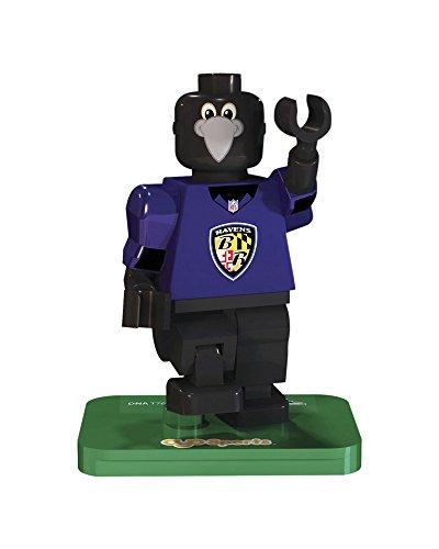 NFL GEN3 Baltimore Ravens Mascot Limited Edition Minifigures, Purple, (Baltimore Ravens Mascot)