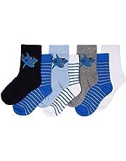 Toandon Toddler Kids Adorable Animal Printed Socks - 7 Pairs