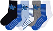 Toandon Toddler Kids Adorable Animal Printed Socks - 7 Pairs