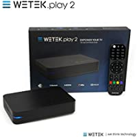 WeTek Play 2 Hybrid Android Set-top Box 4K Ultra HD IPTV/OTT 2 GB DDR3 H.265 (DVB-S2)