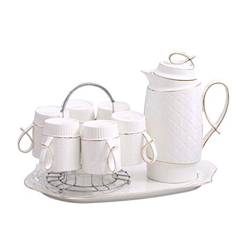 - CSQ Coffee Cup Bedroom Tea Set, Home Living Room Tea Set Office Tea Set Restaurant Tea Set Afternoon Tea (Color : B)