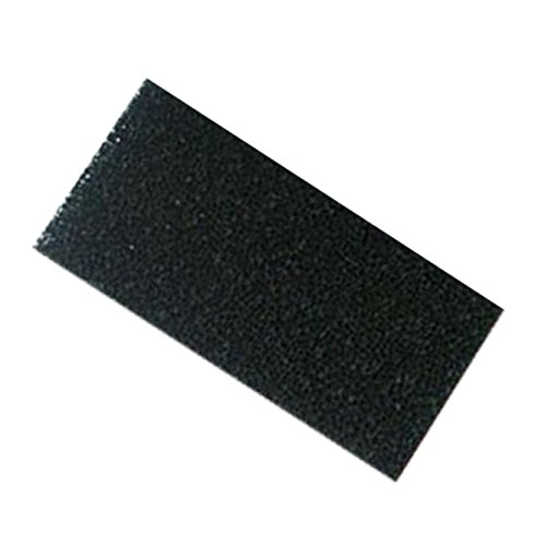 Bonded Poly Filter Floss Pads For Ponds and Aquariums (black). (72〃 x 12〃x 1〃)