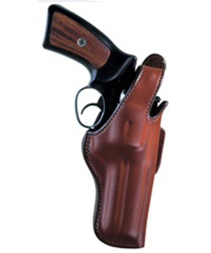 Bianchi Thumbsnap Belt Holster - Bianchi 5BHL Thumbsnap Holster - Ruger Gp100 4-Inch (Tan, Right Hand)