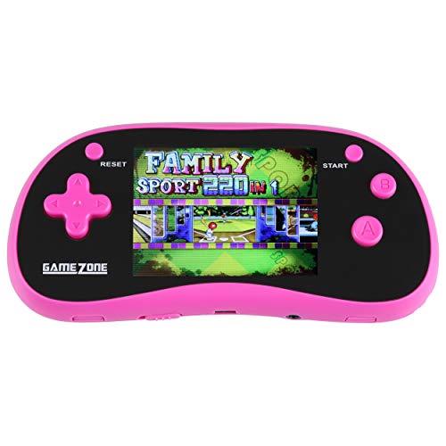 IQ Toys Handheld Portable Digital Screen 220 Preloaded Games , 3