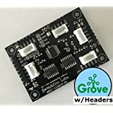Grove/Pin Headers I2C 4 Channel Mux Extender/Expander Board for Arduino and Raspberry Pi