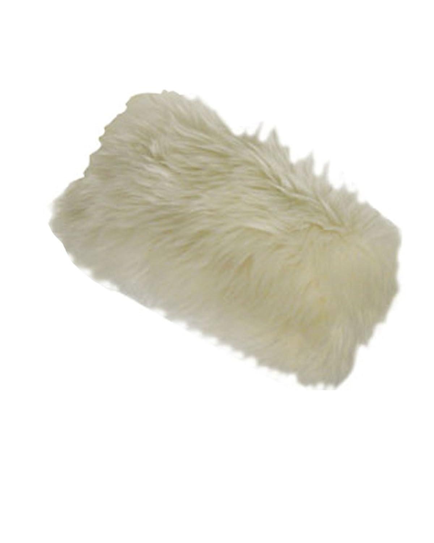 David & Young Solid Faux Fur Headband 2