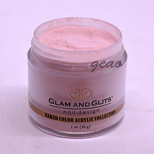 (Glam Glits Acrylic Powder 1 oz Never Enough Nude NCAC396)