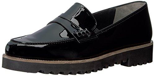 Paul Green Women's Kianna Slip-On Loafer Black Patent