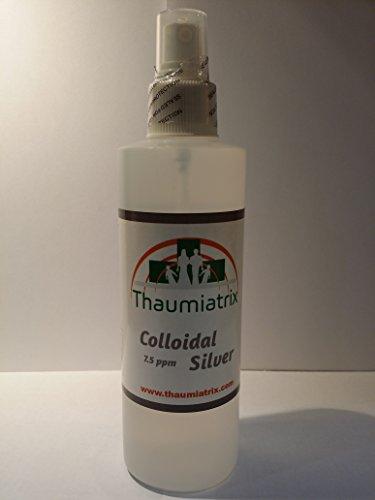 Thaumiatrix Ionic Colloidal Silver 8oz Topical Spray (Ionic Silver Spray)