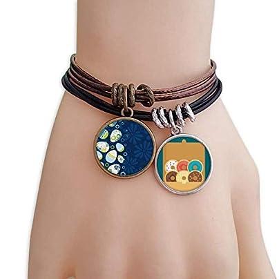 SeeParts Easter Religion Festival Egg Stripe Circle Bracelet Rope Doughnut Wristband Estimated Price £9.99 -