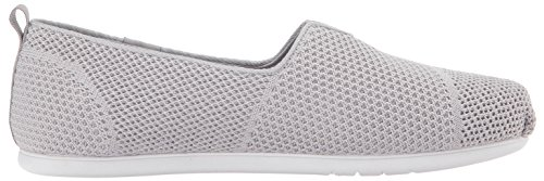 BOBS de Skechers Mujeres Plush Lite Flat, Grey
