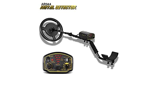 Amazon.com: Metal Detector, Sacow Underground Metal Detector Waterproof Depth 1.5m/2.5m AR944 Scanner Finder 1200mA (Black): Toys & Games